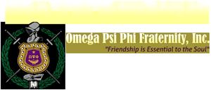 Rho Xi Chapter – ΩΨΦ Fraternity Inc. Logo